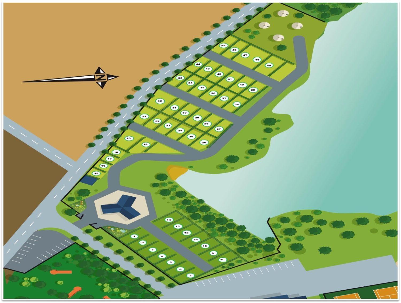 Plan du camping de l'Aigrette